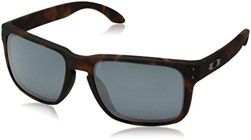 Oakley Herren Holbrook 9102f4 Sonnenbrille, Mehrfarbig (Matte Brown Tortoise), 57