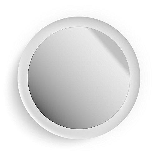 Philips Hue Adore LED Beleuchteter Spiegel Weiß, White Ambiance, 2400lm, inkl. Dimmschalter, IP44 | Badezimmer-Spiegel mit Fernbedienung, spritzwassergeschützt