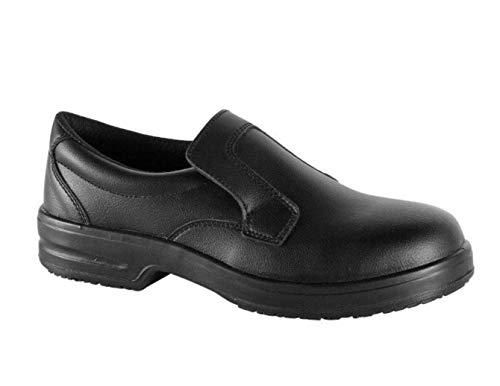 Safe Way Berufsschuhe 00P303 schwarz rutschhemmend ohne Schutzkappe (43)