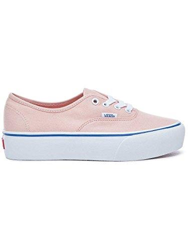 Vans Authentic Platform 2.0 Sneaker Donna, Pink, 41 EU