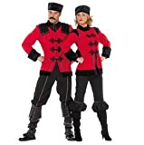 Stekarneval - Disfraz de ruso adultos, talla UK 12-14 (477740)