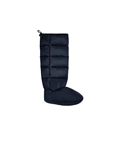 Hunter Down Filled Welly Socks - Black -