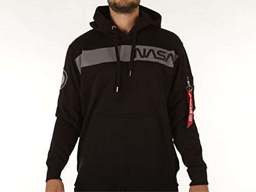 Alpha Industries NASA RS Felpa Black