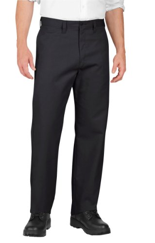 Dickies - - LP812 Männer Industrie-Flat Front Pant, 48W x UU, Black Industrie-flat Front Pant