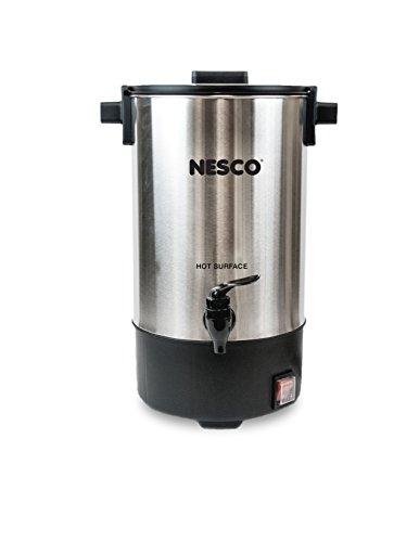 Nesco cu-2525taza urna de café, acero...