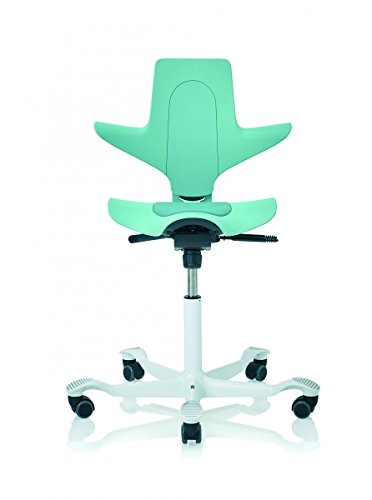 HAG Capisco Puls 8010 Bürostuhl, 200mm Gasfeder, BalancedMovement Mechanik® seagreen