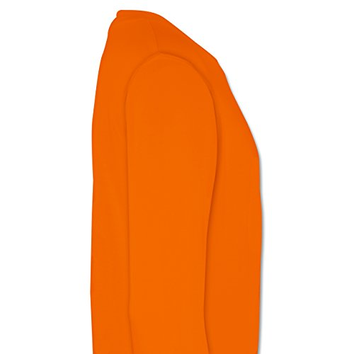 Evolution - Skateboard Evolution - Herren Premium Pullover Orange