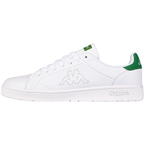Sneaker Unisex Unisex Kappa Court Bianco (1030 Bianco / Verde)