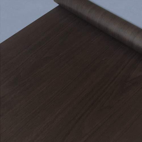 (LoveFaye Dunkelbraun Pfirsich Holz Getreide Kontakt Papier Selbstklebend Regalen Night Ständer Tisch Cover Sticker 45cm by 9.8Füße)