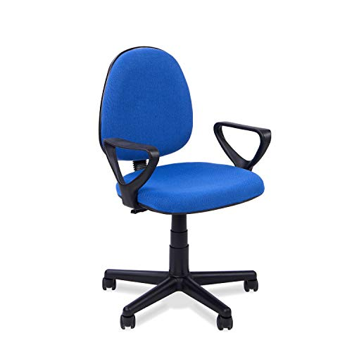 Adec - Silla escritorio giratoria despacho o estudio Danfer, medidas 61x55x109 cm,...