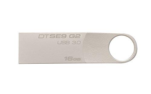 Kingston Digital 16 GB DataTraveler SE9 G2 USB 3.0 Flash Drive (DTSE9G2/16GB)