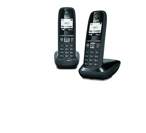 Gigaset AS470 Duo - Téléphone fixe sans fil - 2 combinés - No
