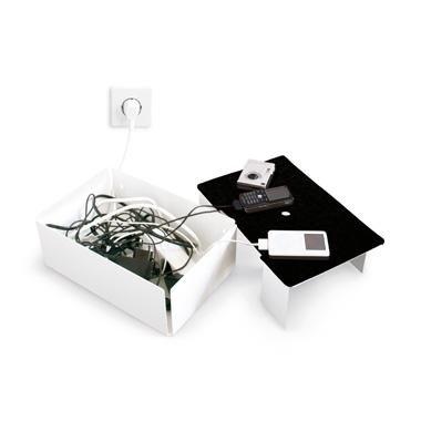 Preisvergleich Produktbild Filz für Kabelstation Charge Box, Filz:schwarz