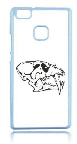 Smartphone Case teschi di animali testa di animale con punte lunghe denti lateralmente scheletro rocker Frecce Club Gothic Biker Skull Emo Old School per Apple Iphone 4/4S, 5/5S, 5C,