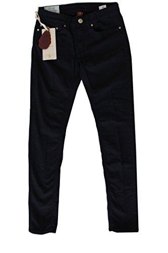 DonDup Pantalone Donna NewLong Blu 5 Tasche Size 32
