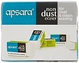 #5: Apsara Non Dust Pencil Eraser, Pack Of 10, 200 Pieces