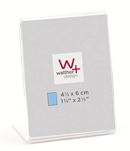 Walther AS4560 Acryl Minirahmen 4,5 x 6 cm (4 6 X Frame)