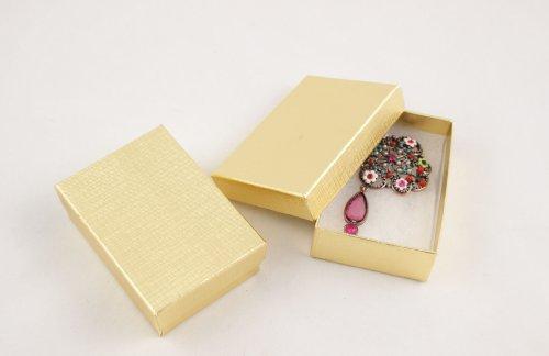 Cotone, multiuso, di lino-Scatola porta orecchini, di ogni BD10 11p - Body Kit Prezzo