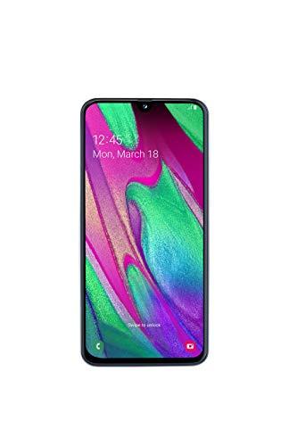 Samsung Galaxy A40 Smartphone (15.0cm (5.9 Zoll) 64GB interner Speicher, 4GB RAM, Dual SIM, weiß) - Deutsche Version (Samsung Galaxy Chat Chat)
