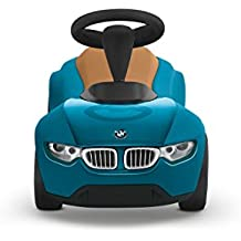 Kinderauto 80932413782 FüR Schnellen Versand Bobby Car Bmw Baby Racer Iii Schwarz Orange Bobby Car