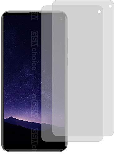 2X Crystal Clear klar Schutzfolie für Cubot Max 2 Bildschirmschutzfolie Displayschutzfolie Schutzhülle Bildschirmschutz Bildschirmfolie Folie