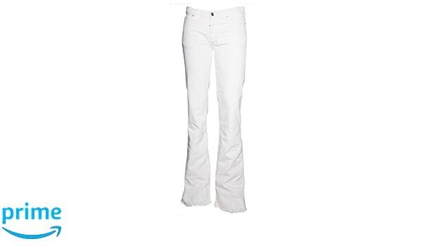IRO Damen Leicht ausgestellte Jeans Freddy weiß: