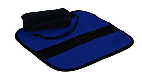 "Linotex trendige Sitzkissen ""All-Sit -Premium"" | Thermo-Isolierfolie | Microfleece 300 g/m² | 33 x 33 cm | NY-07-07-016 (navyblau)"