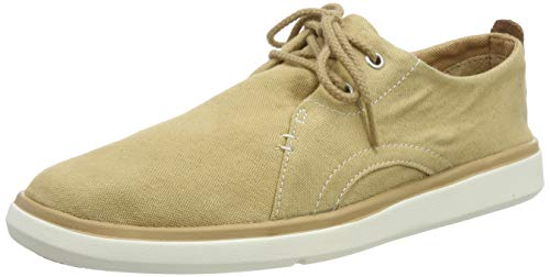 Timberland Herren Gateway Pier Casual Oxfords, Braun (Iced Coffee MCK), 41.5 EU Casual Canvas Oxford