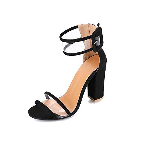 Frauen-Pumpen-reizvolle Absatz-Schuhe Damen schnüren Sich Oben Punkt Toe Party Hochzeit Pumpe, Schwarz, 40 (Rockport-pumpen-frauen-schuhe)