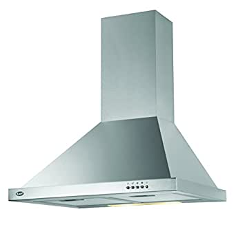 Kaff Kitchen Chimney 60 Cm 1000 M3/H (Elbaa Mx 60, Stainless Steel)