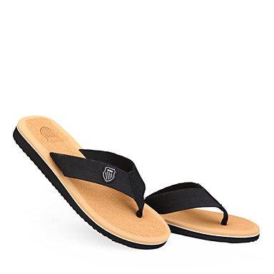 Sommer Sandalen Herrenschuhe Outdoor/Casual Baumwolle Flip-Flops Schwarz/Braun/Grau Braun