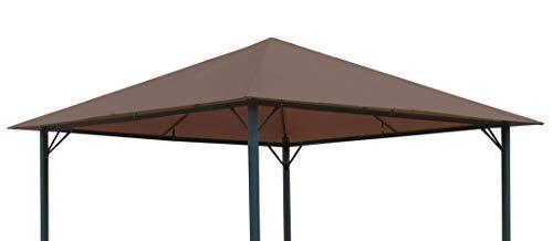 Quick-Star Ersatzdach für Garten Pavillon 3x3m Taupe Antik Pavillondach Ersatzbezug