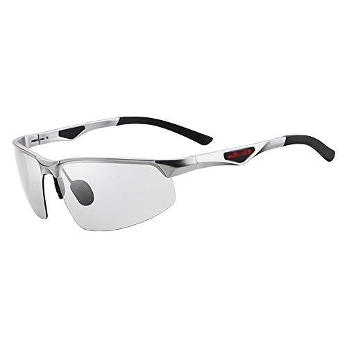 Szblk Polarisierte Sonnenbrille 100% Anti-UV-Sonnenbrille Modische Sonnenbrille Outdoor-Sonnenbrille Tag und Nacht Sonnenbrille mit doppeltem Verwendungszweck