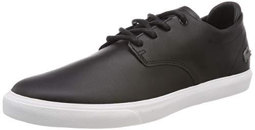 Wht Blk Herren Sneakers (Lacoste Herren Esparre Bl 1 Sneaker, Schwarz (Blk/Wht 312), 44 EU)