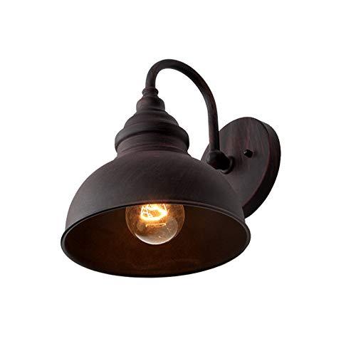 MAGFYLYDL Industrielle Retro- Industrielle Schmiedeeisen-Wand-Lampe, Traditionelle wasserdichte Wand-Licht-Leuchte Fixtrue E27 Im Freien for Garten-Balkon-Treppen-Terrasse -