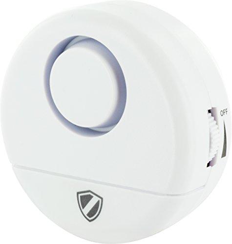 SCHWAIGER -HSA100- Glasbruch-Alarm / Alarmanlage fürs Haus / Sirene / Einbruchschutz / Fenster-Sicherung
