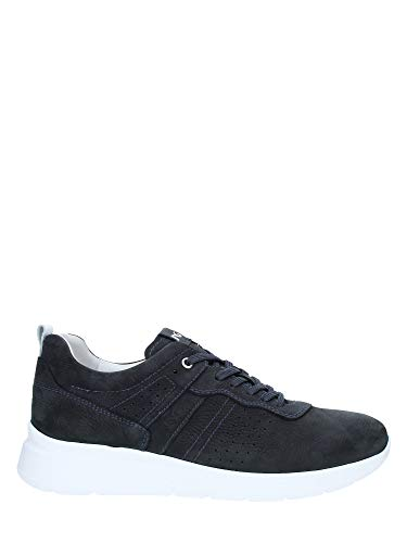 Nero giardini p900920u/217 sneakers scarpe sportive uomo lacci stringhe blu (42 eu)