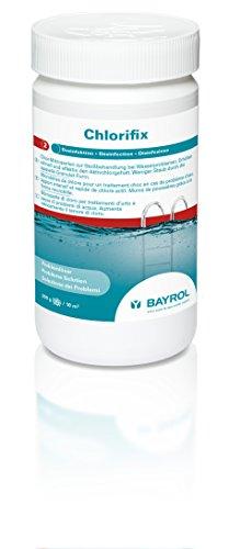 BAYROL Chlorifix - Schnell lösliches Chlorgranulat mit sehr hohem Aktivchlor Gehalt - organisch - 1 kg