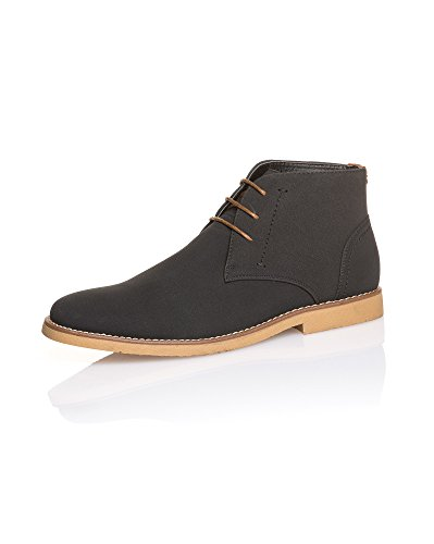 BLZ Jeans - Boots Classique Homme uni Noir