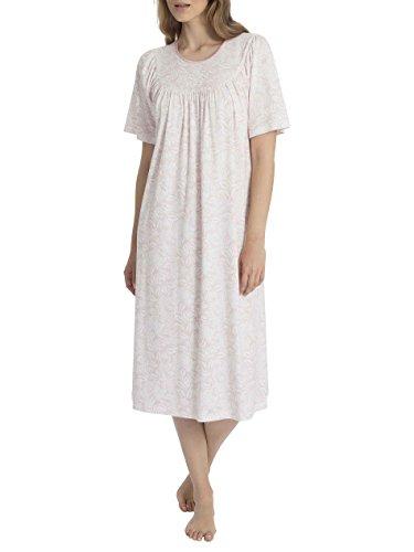 Damen-kurzarm-baumwolle Interlock (Calida Soft Cotton Nightshirt, Kurzarm Damen)