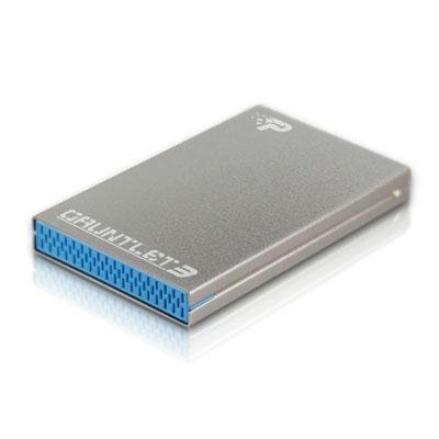Preisvergleich Produktbild Patriot Gauntlet 3 SATA III 6 Gb / s USB 3.0 Festplatte Gehäuse kompatibel (PCGT325S) SATA 3 Blue