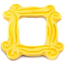 Yellow Peephole Frame as a Fridge Magnet inspired by Friends TV Show