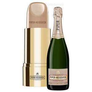 Piper Heidsieck Brut Champagner Lipstick Lippenstift Nude Weiss - OHNE Flasche - NUR Verpackung