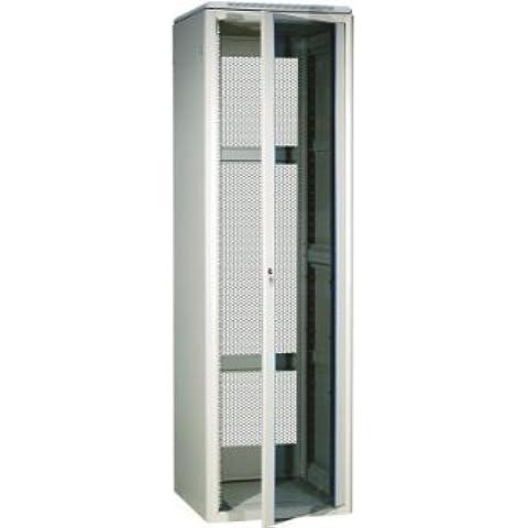 Mueble rack 42U 800 x 800 19 kit con gris
