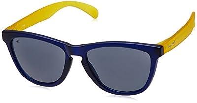 Fastrack Wayfarer Women's Sunglasses (PC003BK6|55|Black)