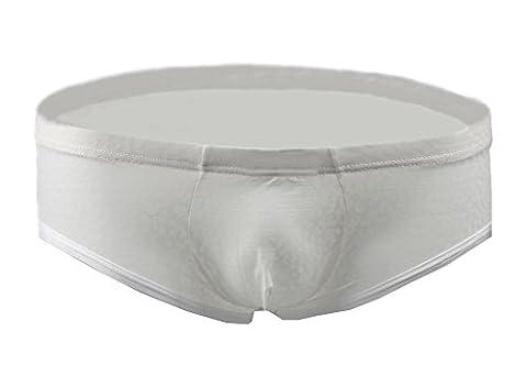 Demarkt Sexy Maillot de bain Transparent/Poche Boxer Trunk Short /Pantalon