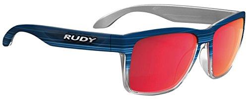 Rudy Project Spinhawk Glasses Blue Streaked Matte - Polar 3FX HDR Multilaser Red 2019 Fahrradbrille