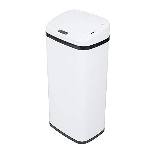 L Square Sensor Auto Automatische Küche Abfalleimer Papierkorb für Badezimmer Schlafzimmer Büro Küche verwenden ()