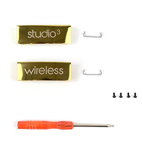 Studio 3 Kabellose Metallscharniere, Reparatur-Set für Studio 3 kabellose Over-Ear-Kopfhörer (Over-ear-beats Studio)