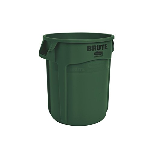 Rubbermaid 76L BRUTE Container - Dark Green